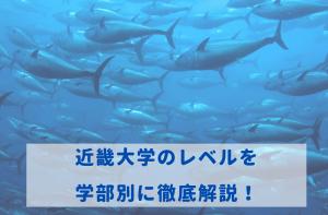 近畿大学のレベルを学部別に徹底解説!
